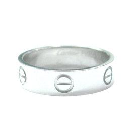 Cartier Love Ring Platinum Size 8.75
