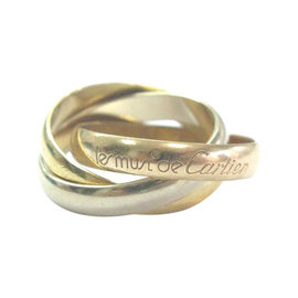 Cartier La Maison Cartier Trinity Tri-Color Rolling Ring