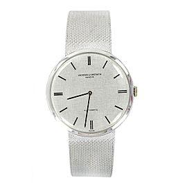 Vintage Vacheron & Constatin 446196 18K White Gold Automatic Mens Watch