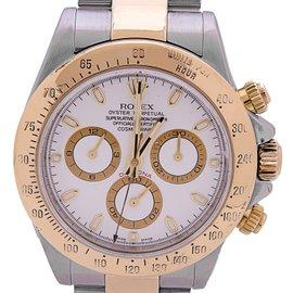 Rolex Daytona 116523 18K Yellow Gold & Stainless Steel Watch 43mm