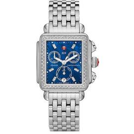 Michele Deco MW06P01A1958 0.66CT Diamond Bezel Stainless Steel Quartz Womens Watch