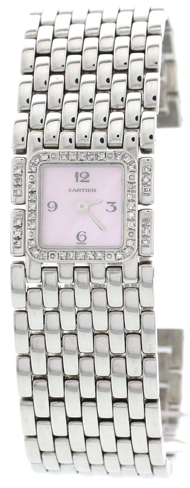 "Image of ""Cartier 2420 Stainless Steel Womens Watch"""