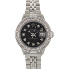 Rolex Datejust 6517 Stainless Steel & Diamonds Watch