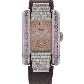 Chopard 8357 La Strada Stainless Steel & Custom Diamonds Womens Watch
