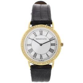 Tiffany & Co. M0530 18K Yellow Gold Diamond Womens Watch
