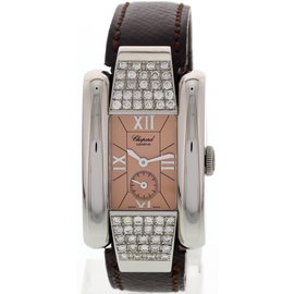 Chopard La Strada 8356 Stainless Steel Diamonds Womens Watch