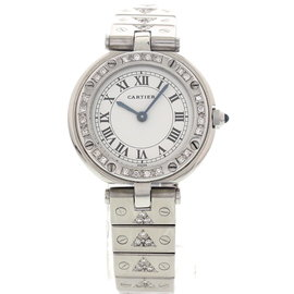Cartier Santos Ronde Stainless Steel Womens Watch
