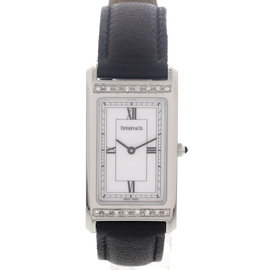 Tiffany & Co. Stainless Steel Diamonds Womens Watch