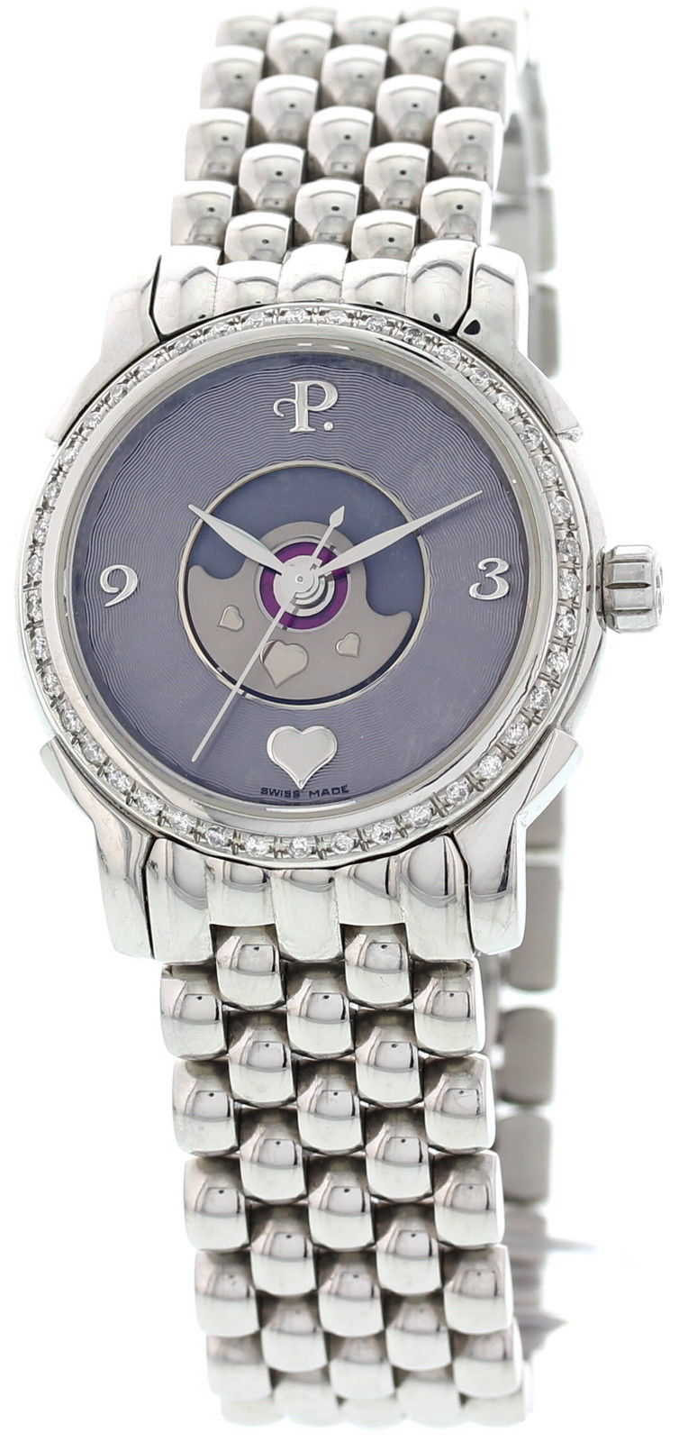 """Image of """"Perrelet Lady Tempest Stainless Steel Mother of Pearl Dial Automatic"""""""