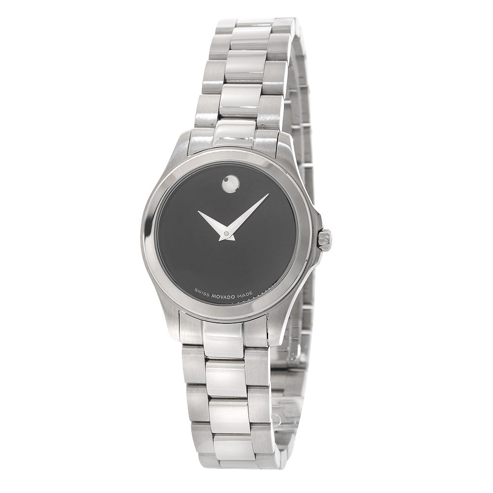 """Image of """"Movado Junior Sport 84 E3 1840 Stainless Steel 26mm Womens Watch"""""""