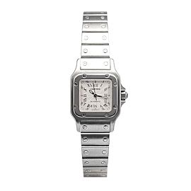 Cartier Santos Galbee W20044d6 Stainless Steel Roman Dial Automatic 24mm Watch