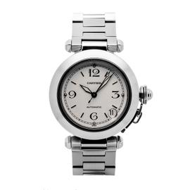 Cartier Pasha 2324 Stainless Steel White Dial 35mm Automatic Unisex Watch