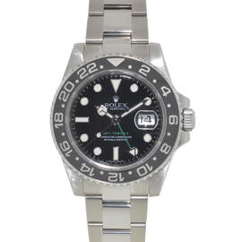 Rolex 116710 GMT II Stainless Steel Black Dial Ceramic Bezel 40mm Watch