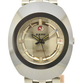Rado Dia Star Stainless Steel & Tungsten 35mm Mens Watch