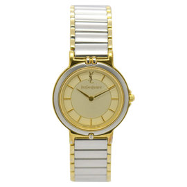 Yves Saint Laurent 2200-228481TA Stainless Steel / Gold Plated 23mm Womens Watch