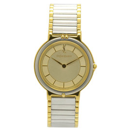 Yves Saint Laurent 4620-E62267Y Stainless Steel / Gold Plated 30mm Unisex Watch