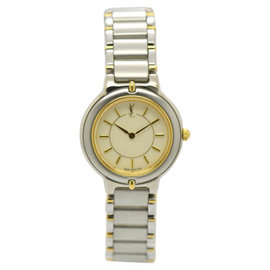 Yves Saint Laurent 5420-F45413TA Stainless Steel / Gold Plated 24mm Womens Watch