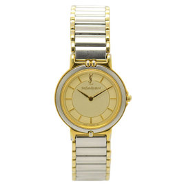Yves Saint Laurent 2200-22841TA Stainless Steel & Gold Plated 24mm Womens Watch