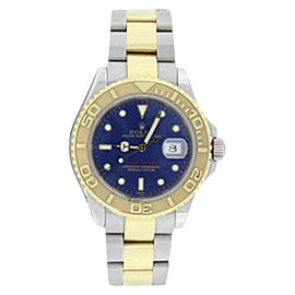 Rolex Yachtmaster 16623 Stainless Steel & 18K Yellow Gold Blue Dial 40mm Mens Watch