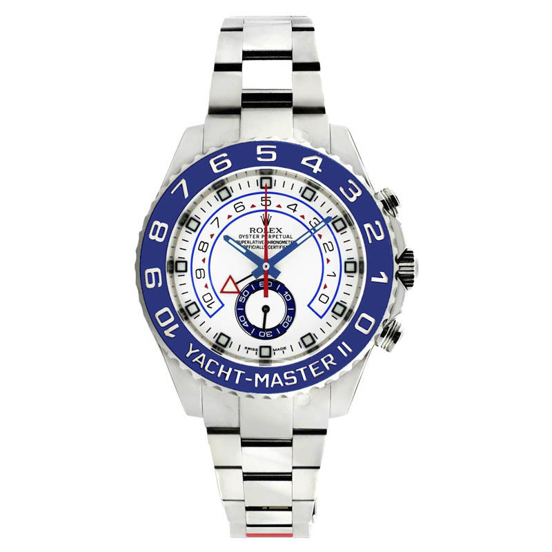 "Image of ""Rolex Yachtmaster 116680 Stainless Steel 44mm Watch"""