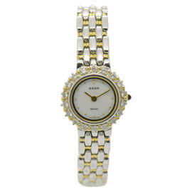 Rado 133.9702.2 Gold Plated & Stainless Steel 22mm Womens Watch