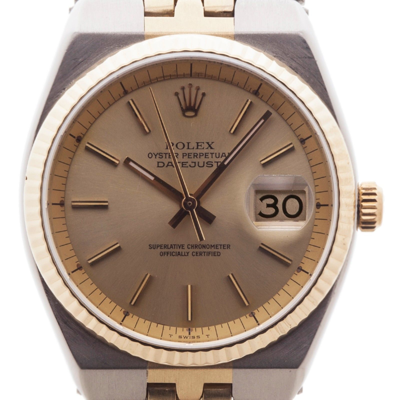 """Image of """"Rolex Datejust 1630 18K Yellow Gold and Stainless Steel Automatic 35mm"""""""