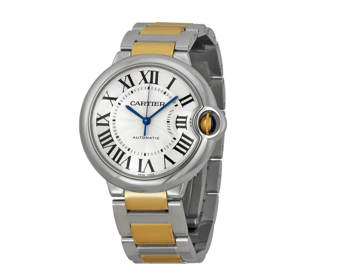 Cartier Ballon Bleu W2Bb0012 18K Yellow Gold/Stainless Steel Automatic