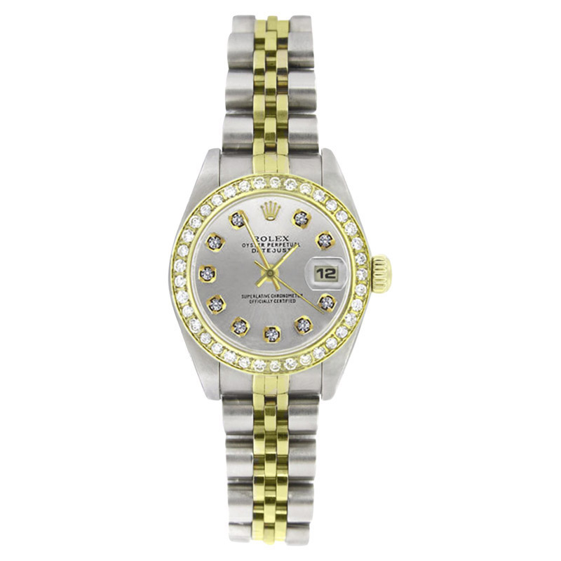 "Image of ""Rolex Datejust 69173 Stainless Steel & 18K Yellow Gold 26mm Womens"""