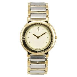 Yves Saint Laurent 4620-E60957Y Two-Tone Quartz 31mm Unisex Watch