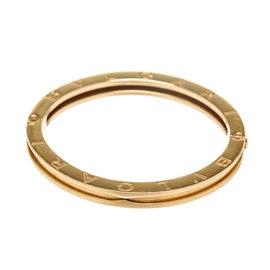 Bvlgari B-Zero1 18K Yellow Gold Bangle Bracelet