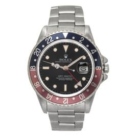 Rolex GMT-Master 16700 Stainless Steel Pepsi Blue and Red Bezel Automatic 42mm Watch