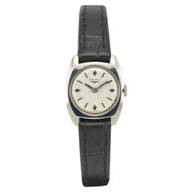 Longines Silver Dial Stainless Steel Hand-Winding 18.5mm Women Watch