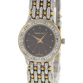 Audemars Piguet 18K Yellow Gold / Stainless Steel Vintage 21mm Womens Watch