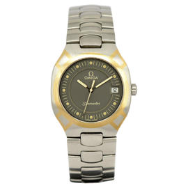 Omega Seamaster Stainless Steel / 18K Yellow Gold Quartz 31mm Mens Watch