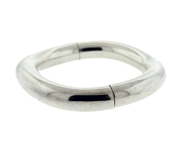 """Image of """"Hermes 925 Sterling Silver Bangle Bracelet"""""""
