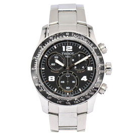 Tissot T039417A Stainless Steel with Black Dial 42.5mm Mens Watch