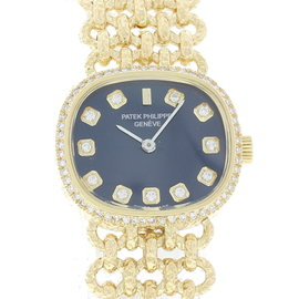 Patek Philippe Ellipse 4133/1 18K Yellow Gold Vintage 23mm Womens Watch