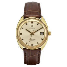 Omega Seamaster 166026 Gold Plated 35mm Mens Watch