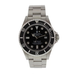 Rolex Oyster Perpetual Sea-Dweller 16600T Stainless Steel with Black Dial 40mm Mens Watch