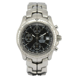 Tag Heuer Link CT5111 Stainless Steel with Black Dial 41mm Mens Watch