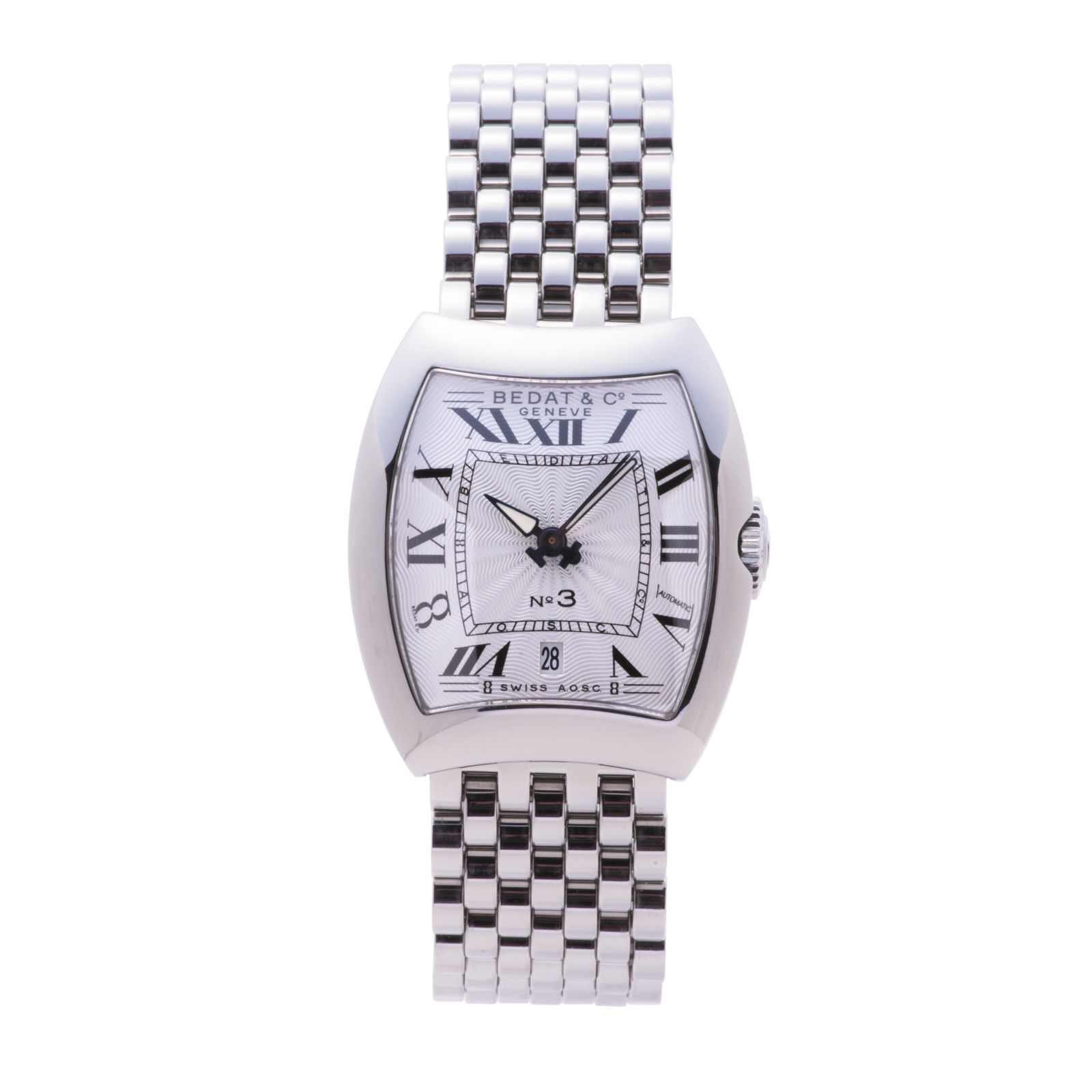 "Image of ""Bedat & Co. 314.011.100 Stainless Steel Automatic 27mm Womens Watch"""
