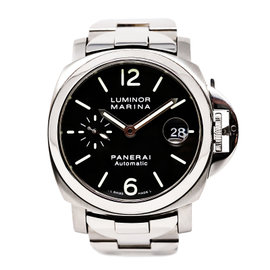 Panerai Luminor Marina PAM00050 Stainless Steel 40mm Mens Watch