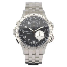 Hamilton Khaki Aviation ETO H77612133 Stainless Steel 42mm Mens Watch