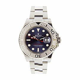 Rolex Yachtmaster 116622 Blue Dial Stainless Steel and Platinum 40mm Mens Watch