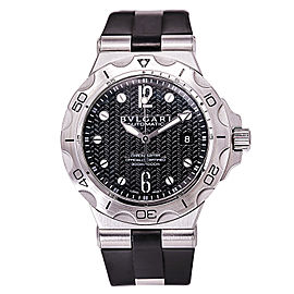 Bulgari Diagono Scuba Aqua DP42SSD Stainless Steel / Rubber Automatic 42mm Mens Watch