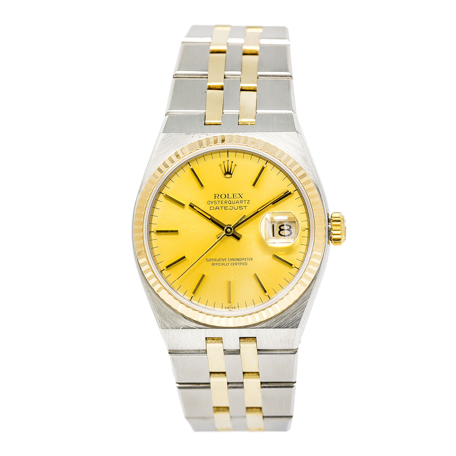 """Image of """"Rolex Datejust 17013 14K Yellow Gold & Stainless Steel Champagne Dial"""""""