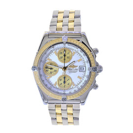 Breitling Chronomat D13352 Stainless Steel / 18K Yellow Gold Automatic 39mm Mens Watch