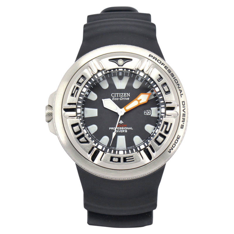 """Image of """"Citizen Promaster B873-S026547 Stainless Steel & Black Dial 48mm Mens"""""""