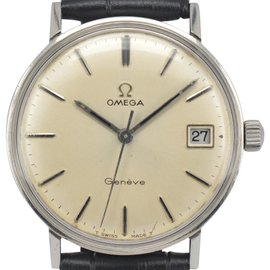 Omega Seamaster Geneve Date Hand-Winding 33mm Mens Watch
