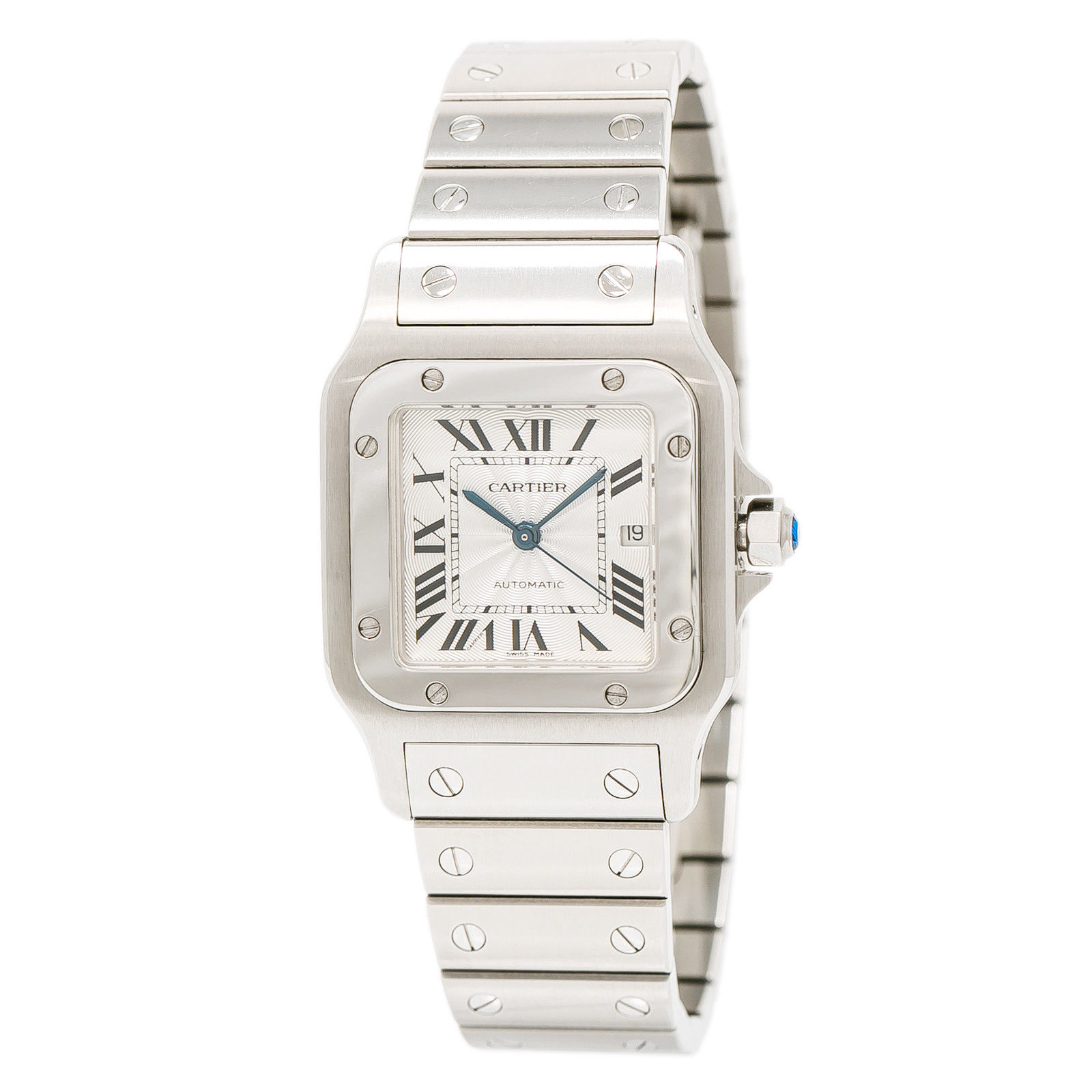 """Image of """"Cartier Santos 2319 Stainless Steel Automatic 29mm Unisex Watch"""""""